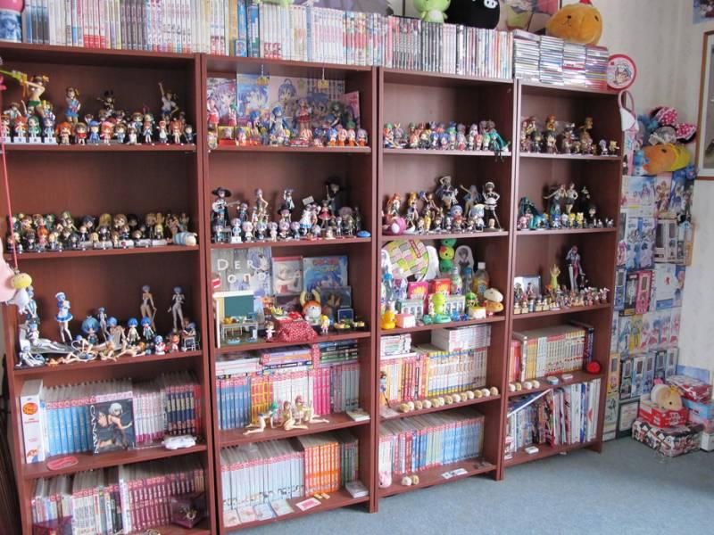 Saskia, otaku room, Holland