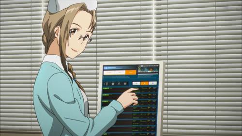Sword Art Online II! anime nurse characters, Aki Natsuki