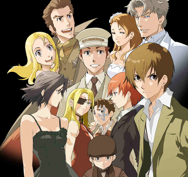 Firo, Ennis, Chane, Anime that Deserve a Second/Third Season, Baccano!