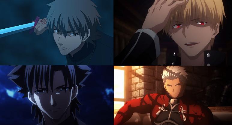Fate/Stay: Unlimited Bladeworks (TV) Fate/Zero anime eye