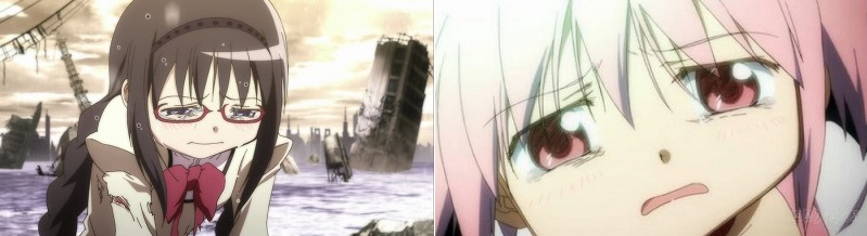 Mahou Shoujo Madoka★Magic anime eye