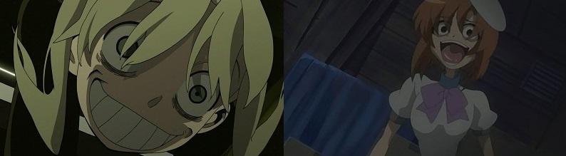Soul Eater Higurashi no Naku Koro ni anime eye