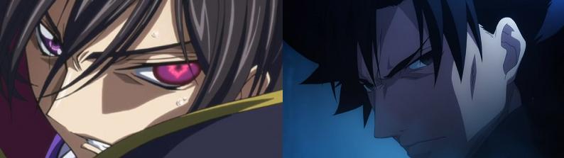 Code Geass Fate/Zero anime eye