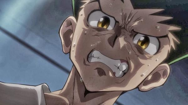 Hunter x Hunter Gon crying