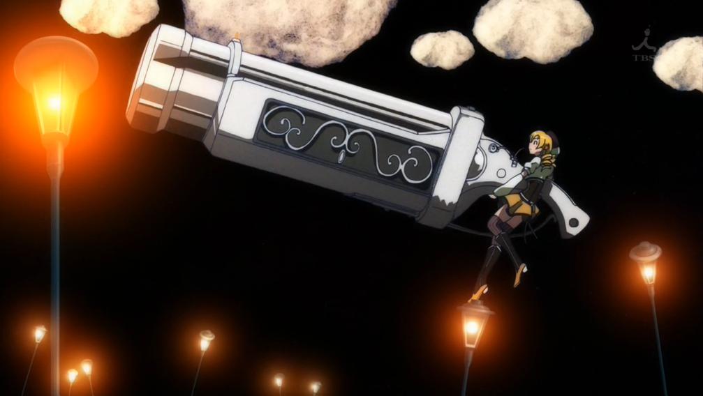supernatural anime gun Mahou Shoujo Madoka★Magica (Puella Magi Madoka Magica) Mami Tomoe - Tiro Finale