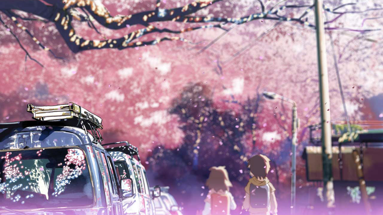 5 cm per second anime sakura