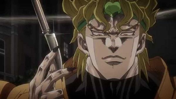 Deadliest Anime Killer Characters Dio Brando