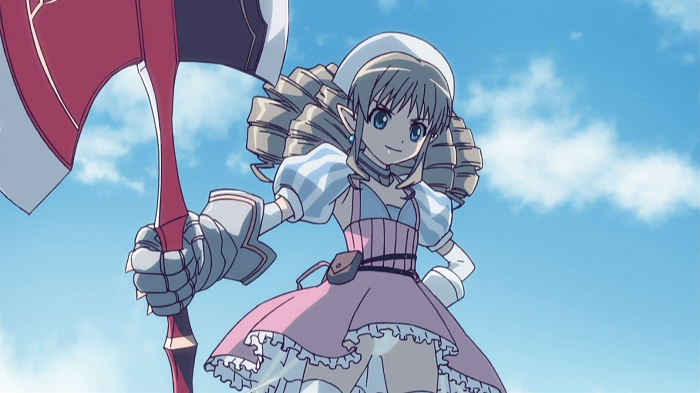 15 Female Anime Characters with Hair Drills - Ymir – Queen's Blade: Rurou no Senshi