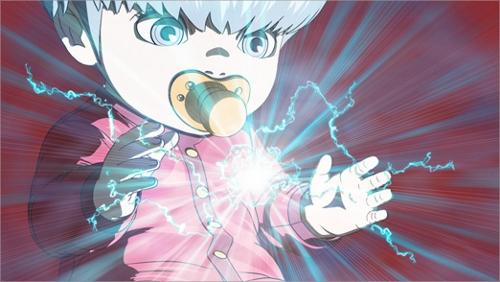 Cyborg 009 anime baby characters Ivan Whisky