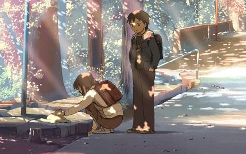 Byousoku 5 Centimeter romance anime