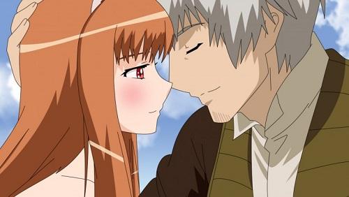 Ookami to Koushinryou romance anime