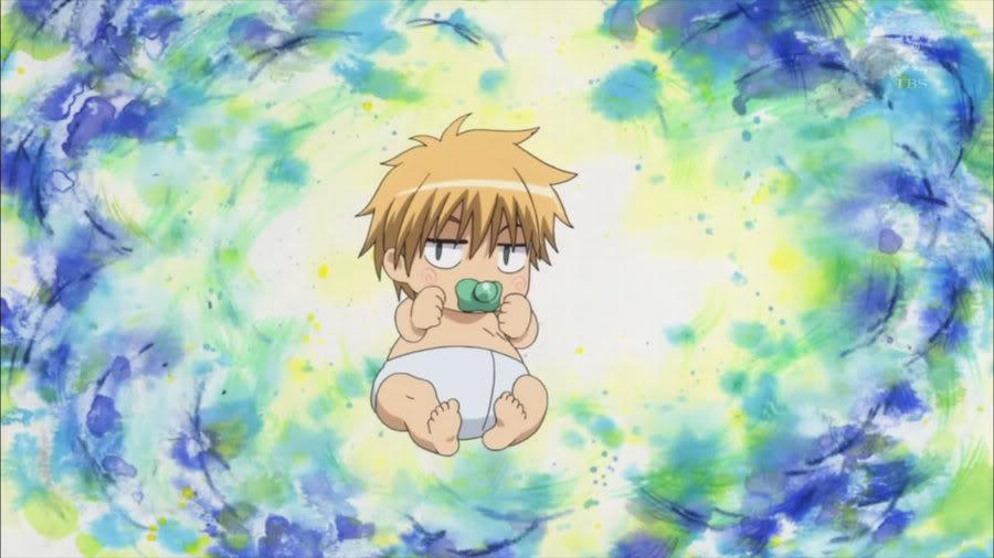 Kaichou wa Maid-sama! Usui Takumi anime baby characters