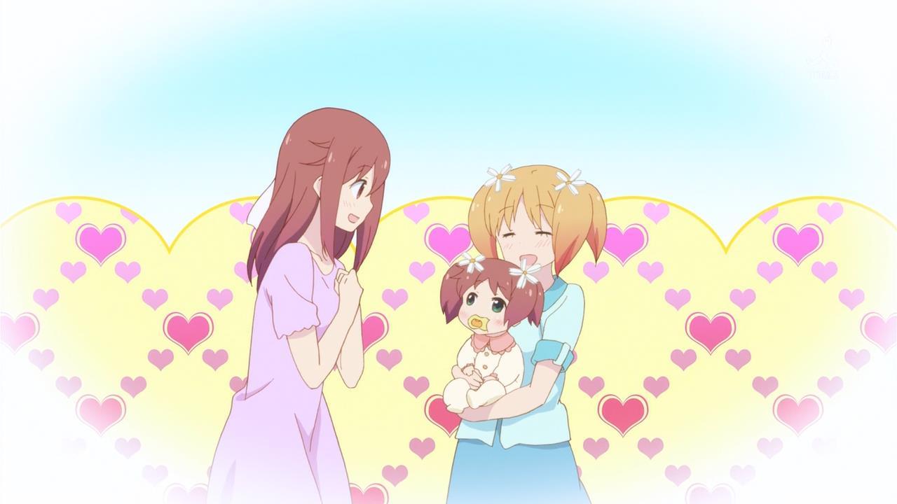 Sakura Trick! Haruka Takuyama anime baby characters