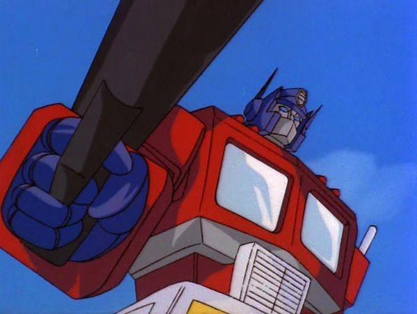 Tatakae! Chou Robot Seimeitai Transformers_Optimus Prime
