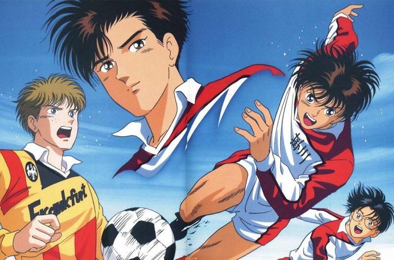 Aoki Densetsu Shoot!: Tanaka Toshihiko, Hiramatsu Kazuhiro, Kubo Yoshiharu