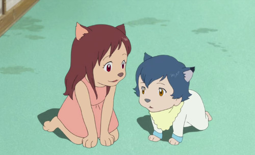 Ookami Kodomo no Ame to Yuki Wolf Children: Ame and Yuki anime wolf anime wolves
