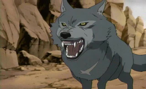 Wolf's Rain Tsume Howling anime wolf anime wolves