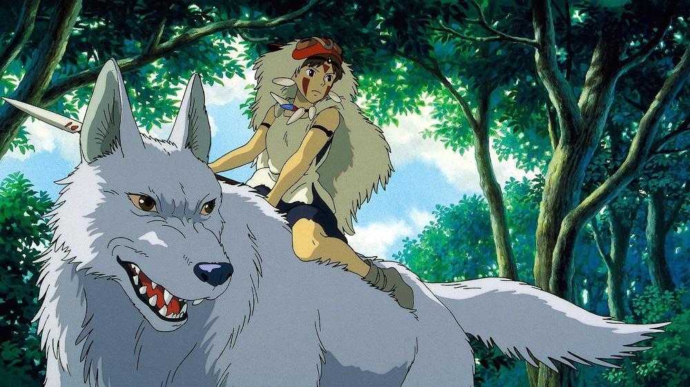 Mononoke Hime anime wolf anime wolves