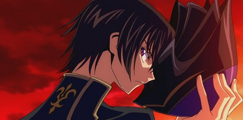Lelouch from Code Geass hottest anime guys