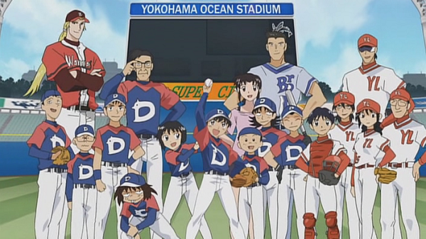 Major baseball anime