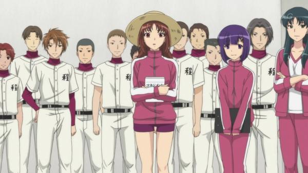 Moshidora baseball anime