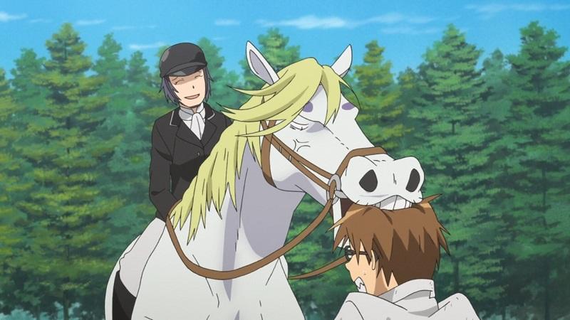 Maron Gin no Saji (Silver Spoon) anime horse
