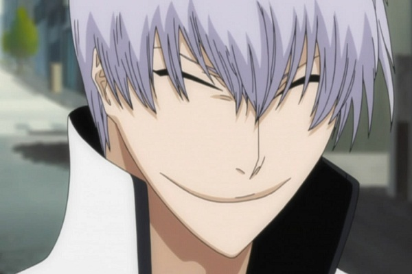 15 Anime Characters with Eyes Always Shut - Gin - (Bleach)