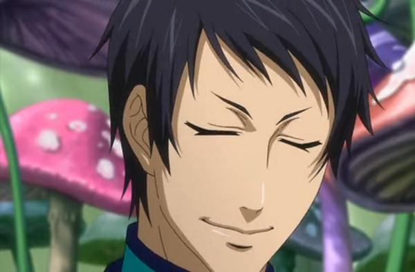15 Anime Characters with Eyes Always Shut - Lau (Kuroshitsuji)
