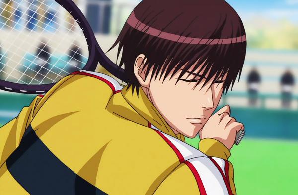 15 Anime Characters with Eyes Always Shut - Renji Yanagi (Prince of Tennis)
