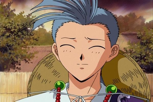 15 Anime Characters with Eyes Always Shut - Chichiri (Fushigi Yuugi)