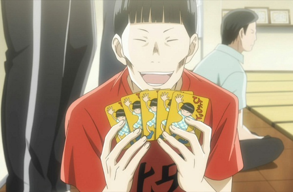 15 Anime Characters with Eyes Always Shut - Hiro Kinashi (Chihayafuru)