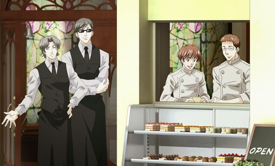 Antique Bakery yaoi anime