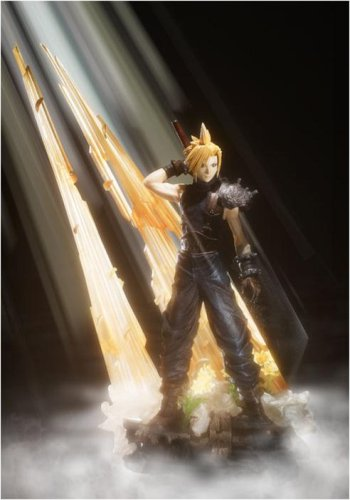 Square Enix Static Arts Final Fantasy 7 Cloud Strife Figure Rinkya