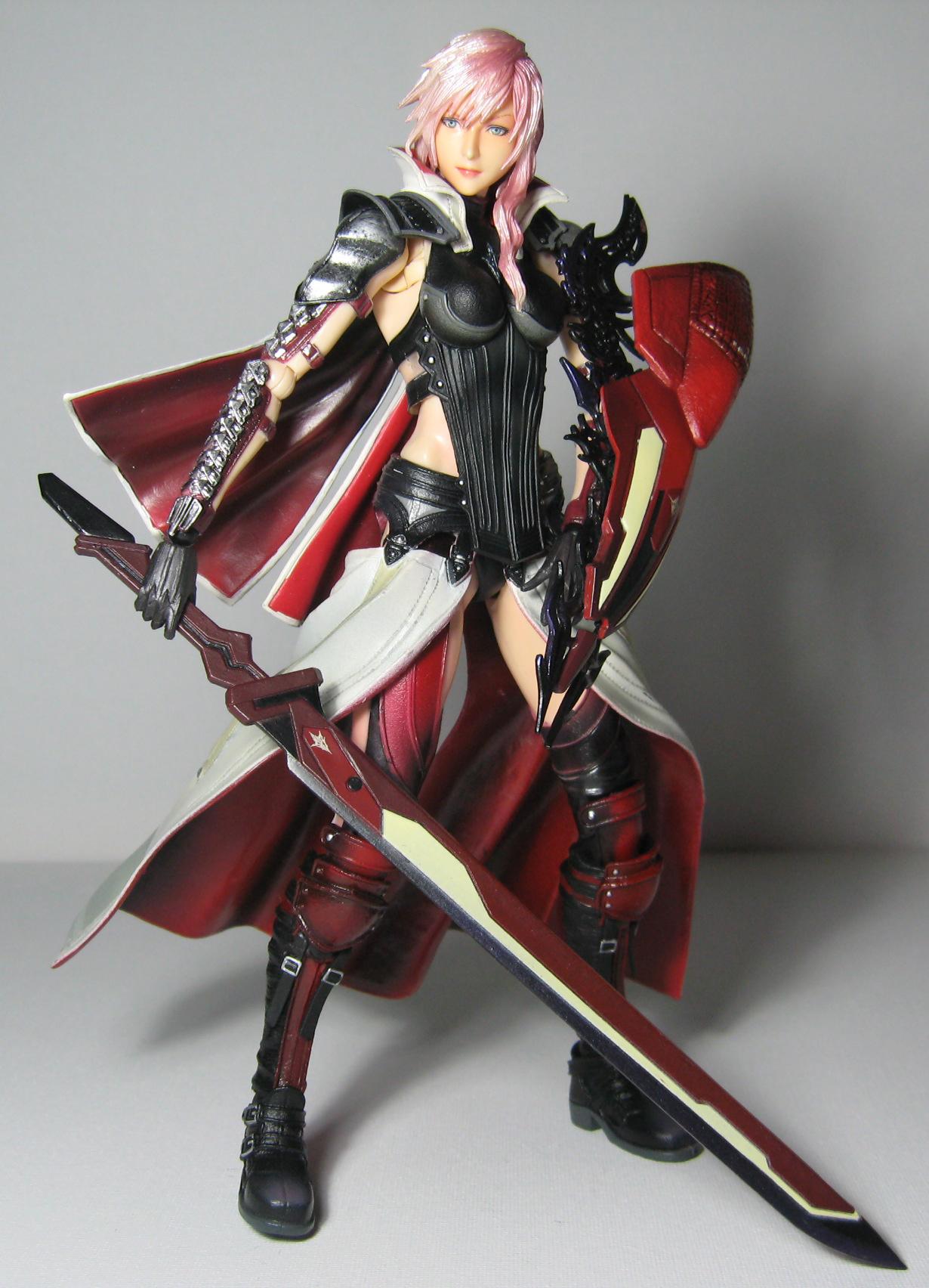 Square Enix Final Fantasy Play Arts Kai Lighting Returns Lighting Figure Rinkya