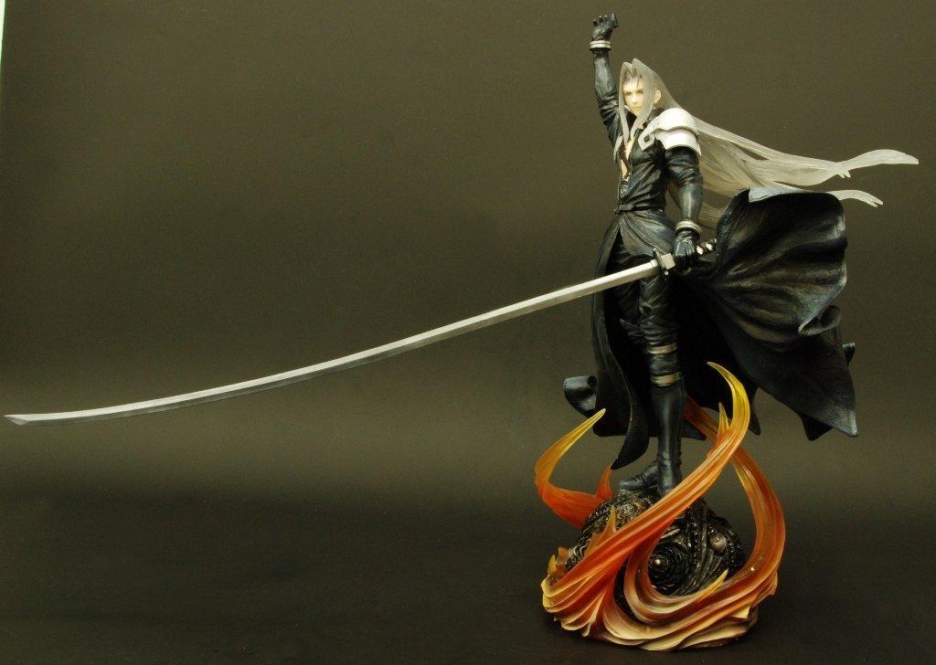 Square Enix Static Arts Final Fantasy 7 Sephiroth Figure Rinkya