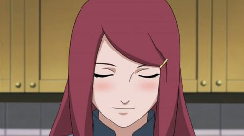 Kushina Uzumaki Naruto anime mother
