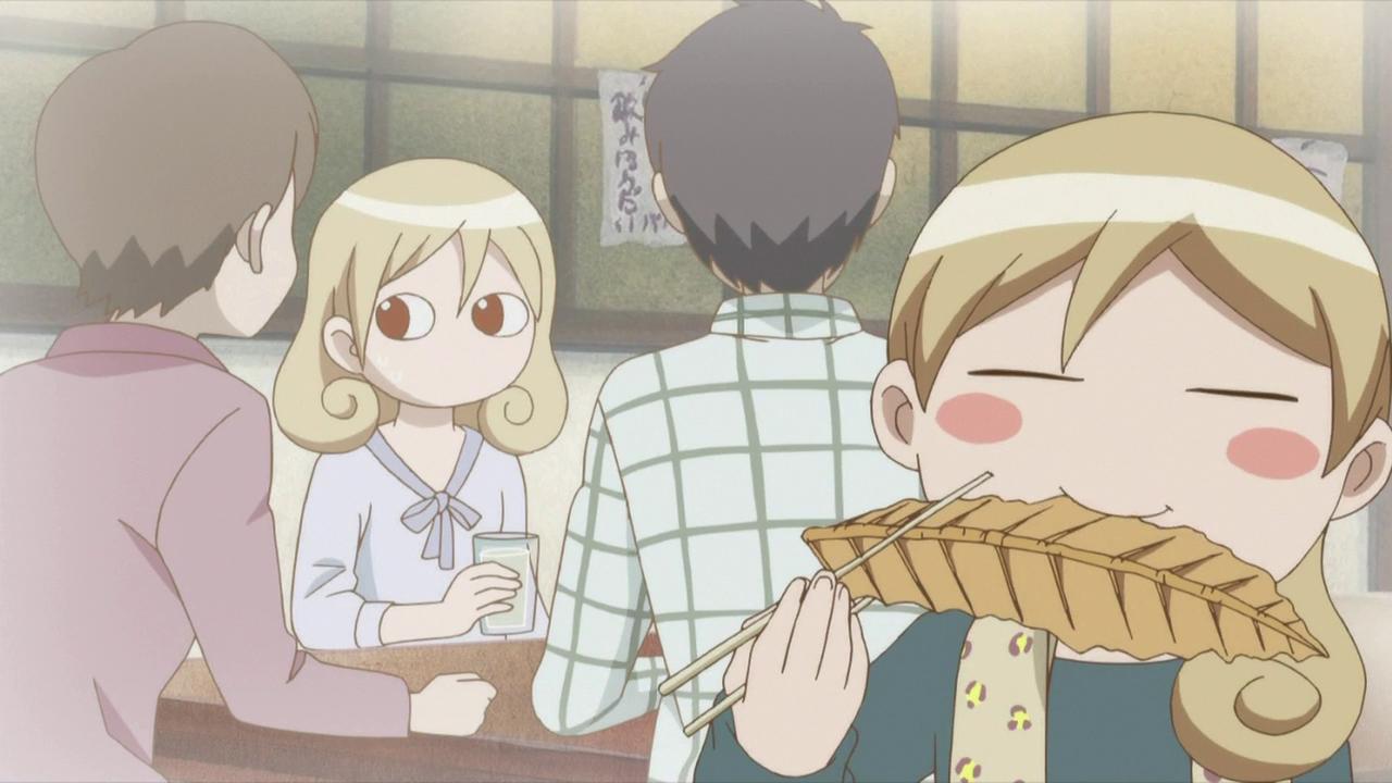 Wakako zake cooking anime food anime
