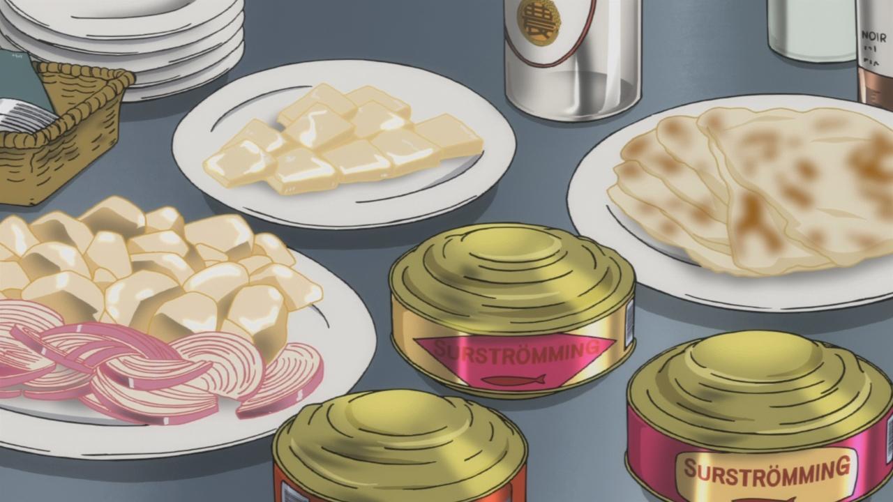 Anime Food Background Materi Pelajaran 5