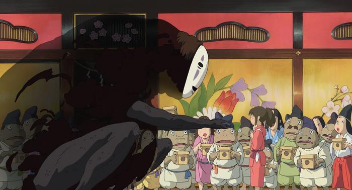 Sen to Chihiro no Kamikakushi Spirited Away supernatural anime