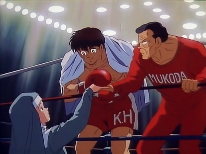 Sister Angela, Kosaku Hatanaka, Coach Mukoda, One Pound Gospel, Boxing Anime