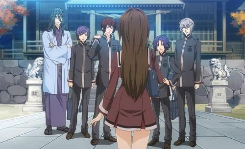 Reverse Harem Anime, Hiiro no Kakera