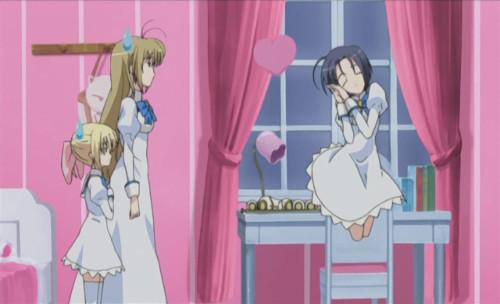 Otome wa Boku ni Koishiteru (Otoboku: Maidens are Falling for Me) Ichiko Takashima, Mizuho Miyanokouji cute anime ghost girls