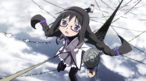Homura Akemi Madoka Magica anime time travel