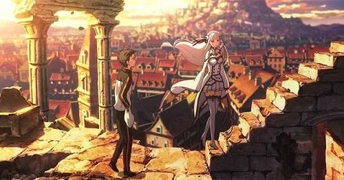 Subaru Natsuki Re:zero anime time travel