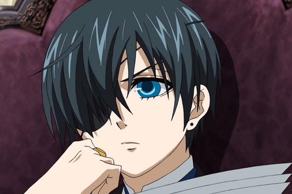 Anime Anti-Hero Main Characters - Ciel Phantomhive - Kuroshitsuji