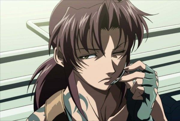 Anime Anti-Hero Main Characters - Revy - Black Lagoon