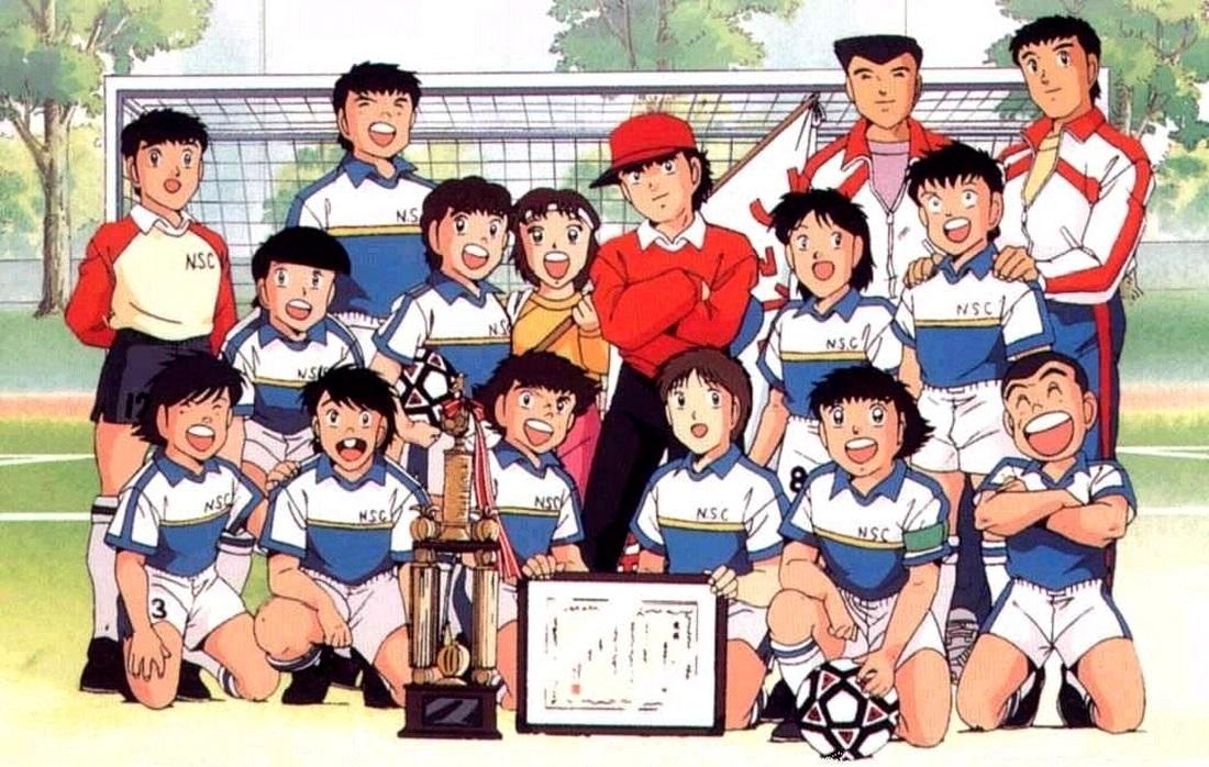 Captain Tsubasa: Oozora Tsubasa and team