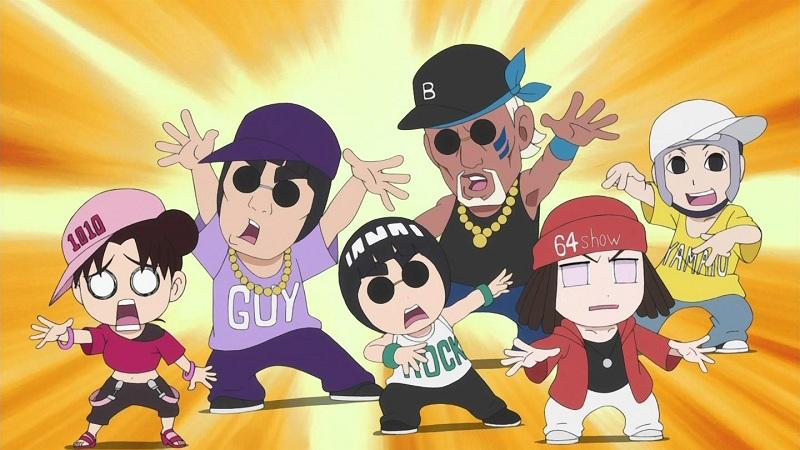 Naruto Shippuuden anime rap