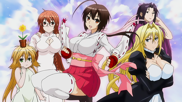 The Sekirei girls