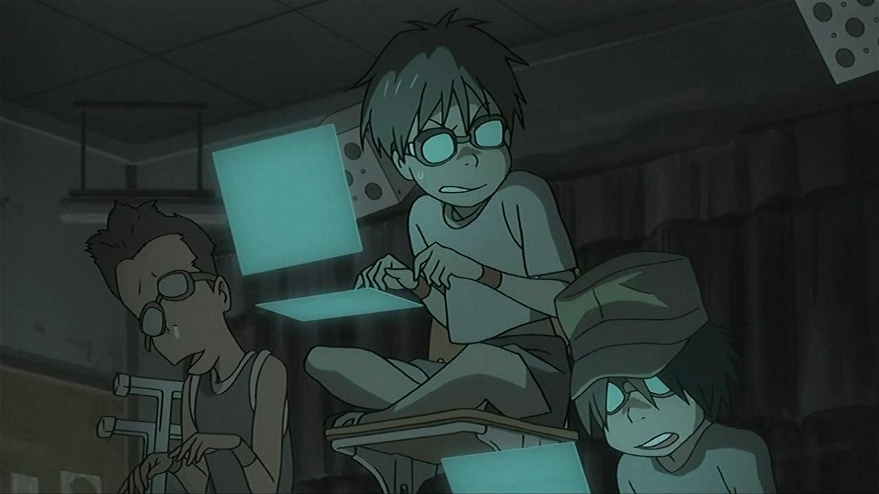 Denno Coil anime hacker